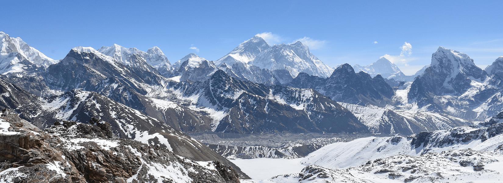 Everest Three Pass, Khongma La, Cho La, and RenjoLa Pass Trekking