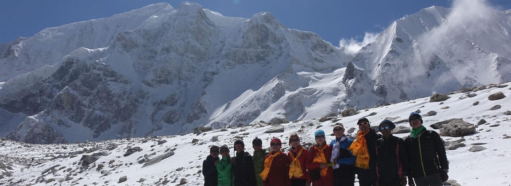 Larkye Peak Climbing
