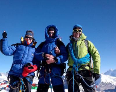 Mera and Island Peak Climbing With Amphu Lapcha Pass [5,860 meters/ 19,225ft]